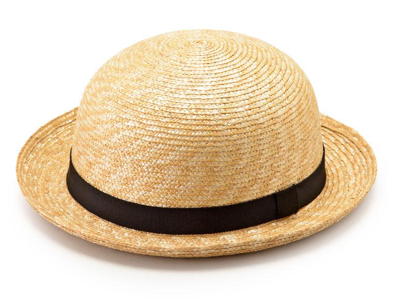 田中帽子(たなかぼうし)子供用セーラー麦わら帽子 天然素材が魅力の