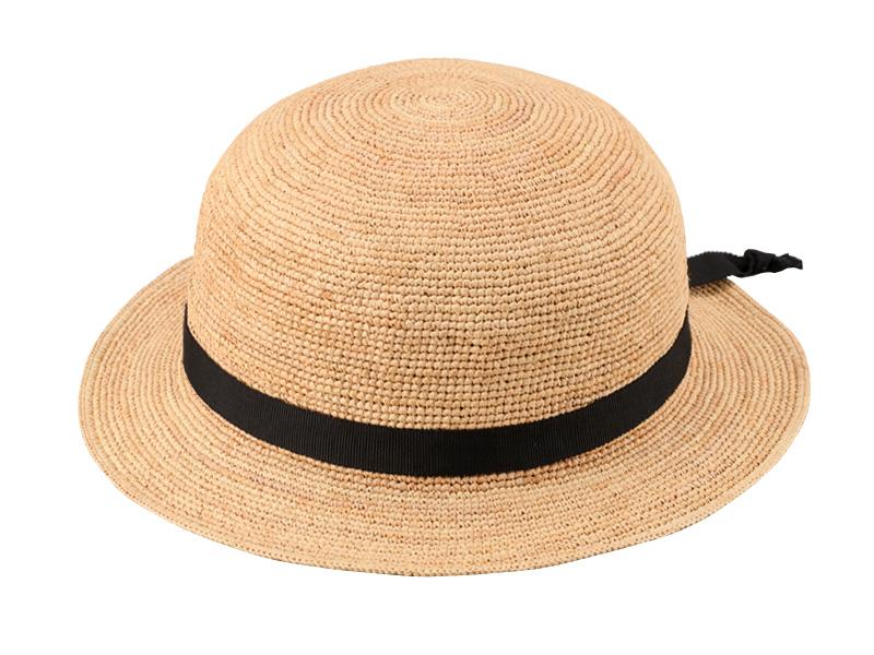 田中帽子店 uk-h011-su Sunny サニー ラフィア 子供用帽子 50cm 52cm 54cm 天然素材ラフィアを使用した手編みのセーラー帽子