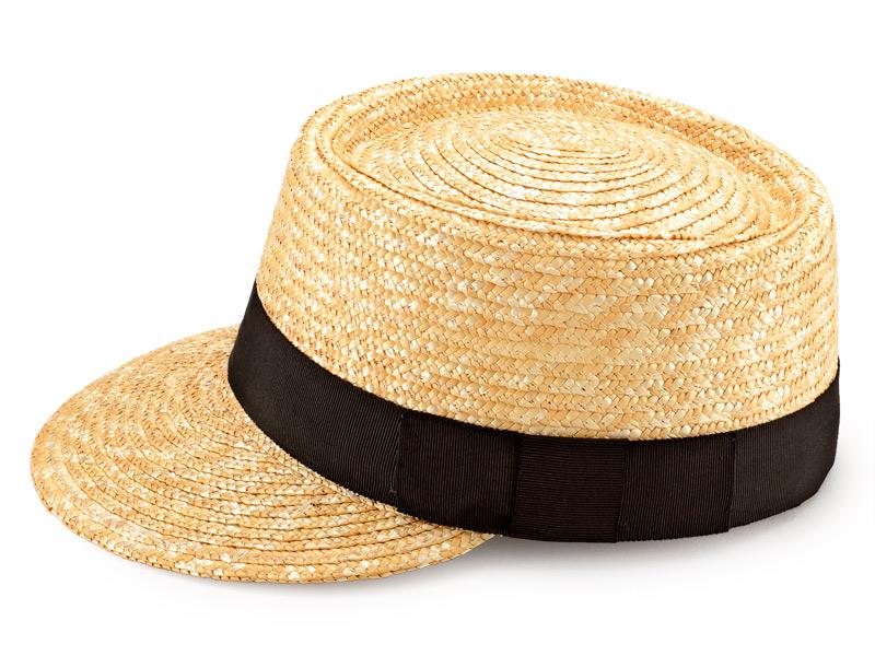 田中帽子店 uk-h027 Mathis マチス 婦人用 麦わら キャップ 57cm 機能性も備えた伝統手工芸品 麦わら帽子に使われるのは主に大麦の茎。それを7本組み、真田ひも状に編んだ「麦わら真田」が材料です。麦わらは空気をよく通し、帽子内にこもりがちな熱を放出し、熱中症対策にもなります。湿度の高い日本の夏こそ、昔ながらの麦わら帽子の良さを実感してください。