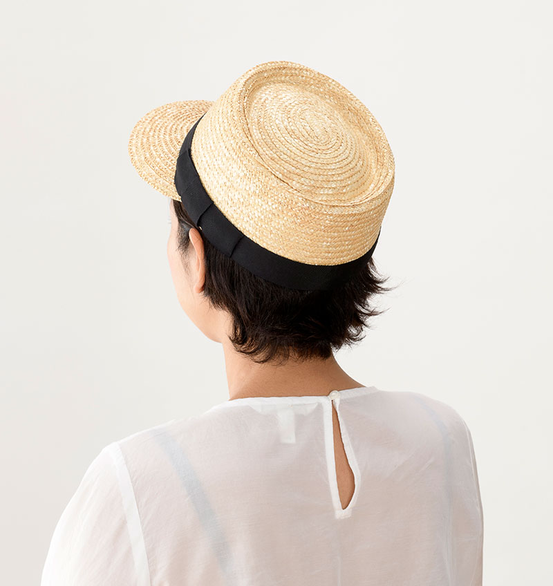 田中帽子店 uk-h027 Mathis マチス 婦人用 麦わら キャップ 57cm イメージ