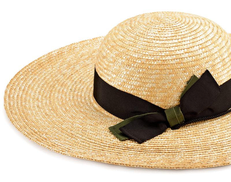 田中帽子店 uk-h049 農作業用 麦わら帽子 59cm 麦わら帽子に使われるのは主に大麦の茎。それを7本組み、真田ひも状に編んだ「麦わら真田」が材料です。麦わらは空気をよく通し、帽子内にこもりがちな熱を放出し、熱中症対策にもなります。湿度の高い日本の夏こそ、昔ながらの麦わら帽子の良さを実感してください。