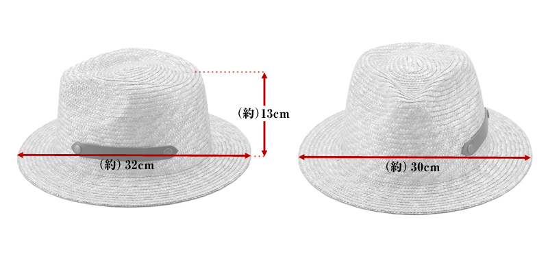 田中帽子店 uk-h051 Samy サミー フェドラー型 太麦 麦わら帽子