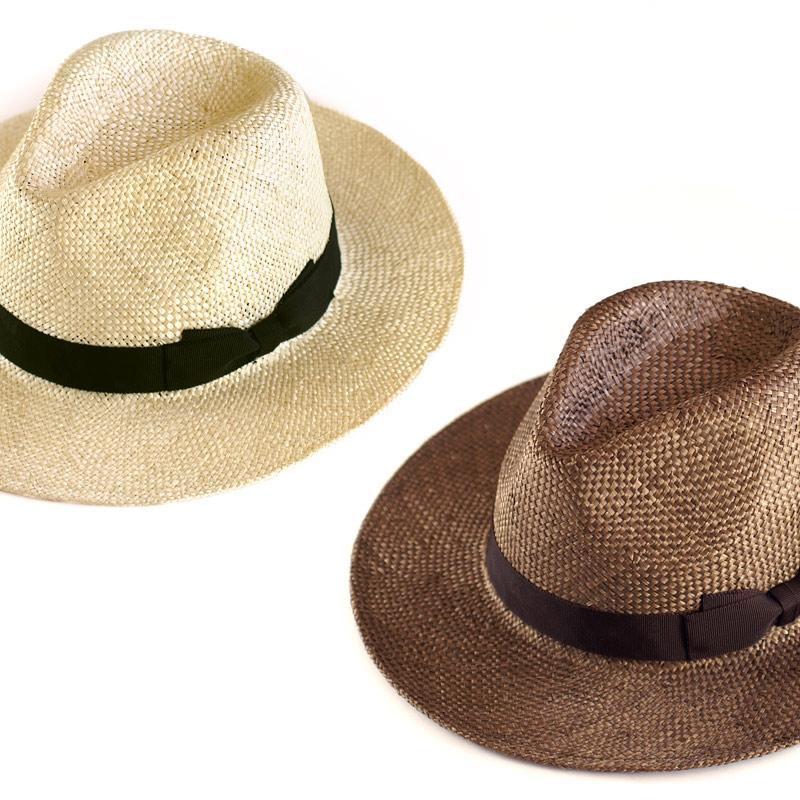 田中帽子店 uk-h060 Odette オデット ケンマ草 つば広中折れ帽子 (57.5cm) 軽くて丈夫な「ケンマ草」 ケンマ草は麻の一種。光沢感も美しく、麦より軽くて丈夫なのが特長です。清涼感があり、通気性抜群の素材なので春夏にぴったりの帽子です。しっかりと編み込んでおり、耐久性にも優れているので長い間、ご愛用いただけます。
