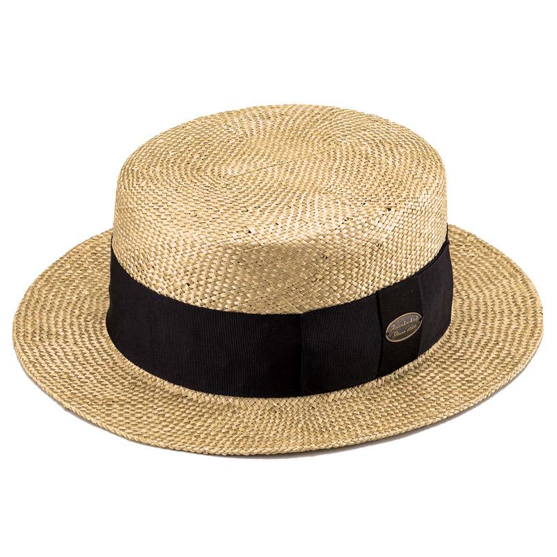 田中帽子店 uk-h051 Margot  h マルゴ オム ケンマ草 カンカン帽 (60cm) ベージュ
