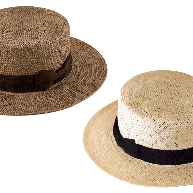 田中帽子店uk-h062Margotfマルゴフェムケンマ草婦人用カンカン帽(57.5cm)軽くて丈夫な「ケンマ草」ケンマ草は麻の一種。光沢感も美しく、麦より軽くて丈夫なのが特長です。清涼感があり、通気性抜群の素材なので春夏にぴったりの帽子です。しっかりと編み込んでおり、耐久性にも優れているので長い間、ご愛用いただけます。