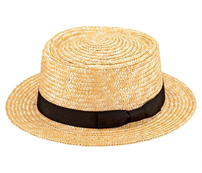 田中帽子店 uk-h066 Karima カリマ ポークパイ型 つば広ハット 57.5cm カジュアルで被りやすい「ポークパイハット」 トップ部分がイギリスの郷土料理のポークパイ(肉入りパイ)の形に似ているために名付けられたポークパイハット。中折れ帽子よりカジュアルな雰囲気で、気軽にかぶれるのが人気です。カラーは自然色の生成。染色していないため、ナチュラルスタイルにもぴったり。麻や綿素材のシャツやタンクトップ、デニムなど、カジュアルな装いにおすすめです。