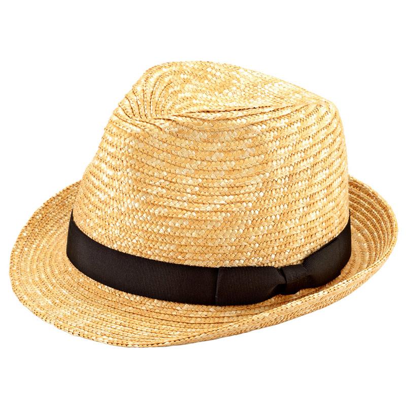 田中帽子店 uk-h067 Loan ロアン 女性用 中折れ 麦わら帽子 57.5cm  ナチュラル