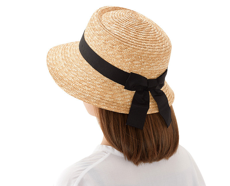 田中帽子店 uk-h068 Alice アリス ポークパイ型女優帽 (57.5cm)