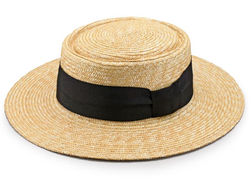 田中帽子店 uk-h074 Alma アルマ ポークパイ型 つば広カンカン 57.5cm カジュアルでかぶりやすい「ポークパイハット」 トップ部分がイギリスの郷土料理のポークパイ(肉入りパイ)の形に似ているために名付けられたポークパイハット。中折れ帽子よりカジュアルな雰囲気で、気軽にかぶれるのが人気です。カラーは自然色の生成。染色していないため、ナチュラルスタイルにもぴったり。麻や綿素材のシャツやタンクトップ、デニムなど、カジュアルな装いにおすすめです。