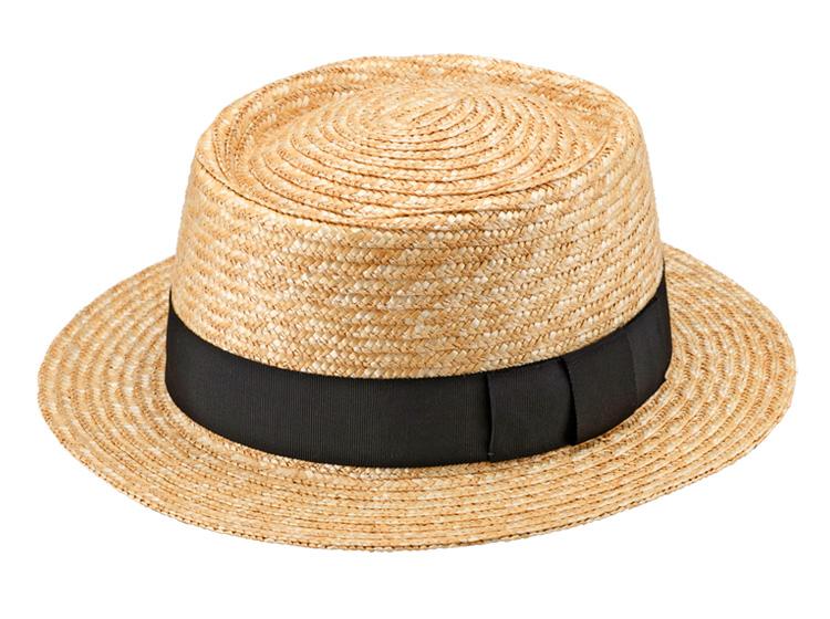田中帽子店 uk-h079 Duke デューク ビッグポークパイハット 65cm カンカン帽子とはちょっと違った雰囲気が人気の<br>ポークパイハットから大きいサイズが登場。