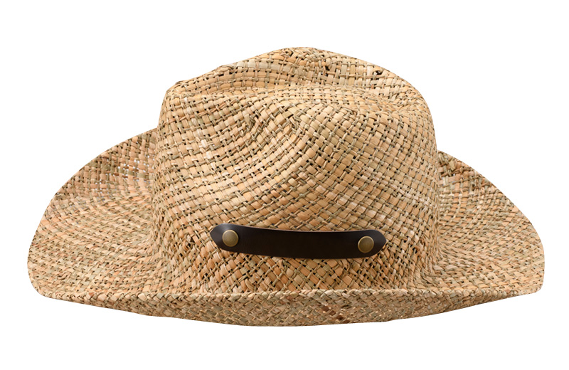 田中帽子店 uk-h085 【名入れ可】 風通涼感  ヨリカンピ ゴルフハット 59cm  春夏の定番と言えば、天然素材のハット。このハットはつばの長さが8cmと長く、より日差しを遮るだけでなく、サイドが反り返ったデザインがゴルファーやアウトドアマンに人気です。ポロシャツ、麻シャツ、アロハシャツ、もちろんTシャツにも似合い、一部牛革を使ってますので大人の雰囲気もあります。