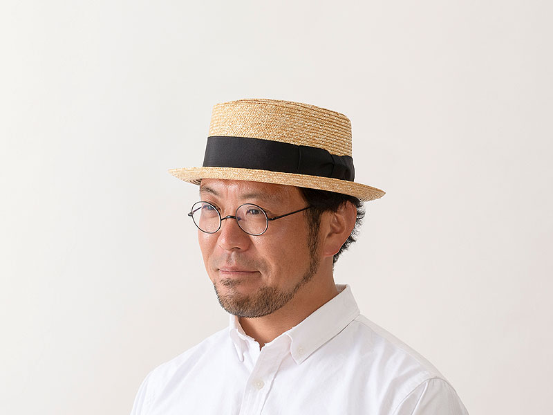 田中帽子店 uk-h104 Ario アーロ 欧米型ポークパイハット