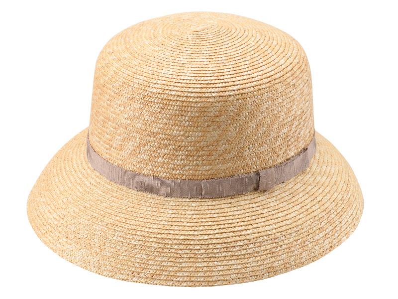 田中帽子店 uk-wh042 wa‐sou-和- Casablanca(カサブランカ) 麦わら 女性用  帽子 58cm 和テイストのリボンが浴衣に似合う 女性らしさを引き出す美しいシルエット