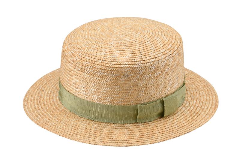 田中帽子店 uk-wh043 wa‐sou-和- Marin/f(マラン/フェム)麦わら 女性用カンカン帽子 57.5cm  シンプルかつすっきりなシルエット