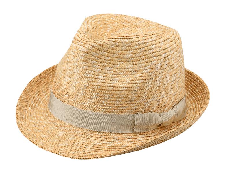 田中帽子店 uk-h067 Loan ロアン wa-sou 女性用 麦わら 中折れ帽子 57.5cm 和テイストのリボンをあしらった女性向け中折れハット