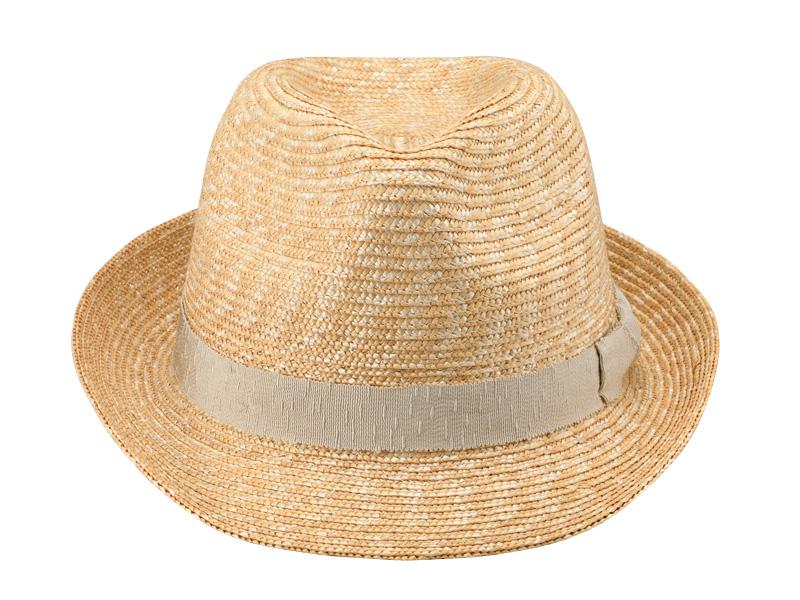 田中帽子店 uk-h067 Loan ロアン wa-sou 女性用 麦わら 中折れ帽子 57.5cm 和装にも良く似合う女性のための定番中折れハット 田中帽子店の定番人気型「中折れハット」をより女性の方がかぶりやすい用アレンジしました。従来のモデルよりも、クラウンを高く、つばを短くすることにより女性がかぶってもキメすぎない、ほどよい可愛さがミックスされています。<br>細い麦を使い上品に仕上げ、リボンには上品な和のテイストのリボンをあつらえ浴衣などの和装にも良く似合うデザインとなっています。ワードローブに加えると重宝するアイテムです。